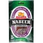 Горбуша Пивний Nabeer соломка солено сушеная 25г