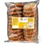 Cookies Po-nashomu Sunny oat with sesame 400g Ukraine