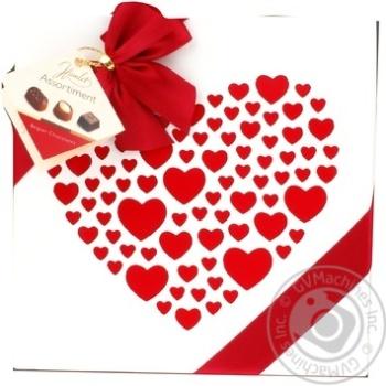 Конфеты Hamlet Шоколадное сердце ассорти 250г
