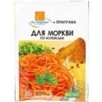Приправа По-нашому для моркви по-корейськи 20г Україна