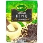 Spices black pepper Kamis ground 60g