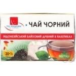 Tea Po-nashomu black packed 20g Ukraine