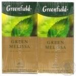 Чай Greenfield Green Melissa 2*25*1.5г х15