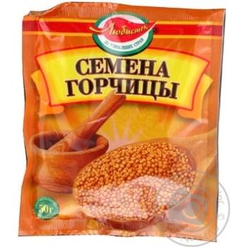 Приправа Любисток Семена горчицы 50г