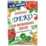 Приправа Деко для овочів 70г Україна