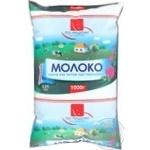 Молоко По-нашому пастеризоване 2.5% плівка 1000г Україна