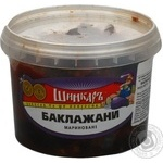 Salad eggplant Shinkar pickled 300g Ukraine