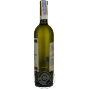 Вино белое Сердце Кахетии Алазанская Долина виноградное полусладкое 12% стеклянная бутылка 750мл Грузия - купить, цены на Novus - фото 4