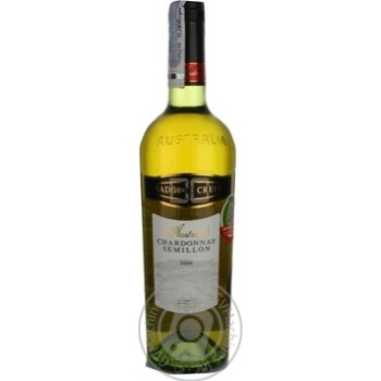 Вино Badgers Creek Chardonnay Semillon белое сухое 12.5% 0.75л