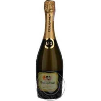 Вино игристое Bolgrad Classic полусладкое 10,5-12,5% 0,75л