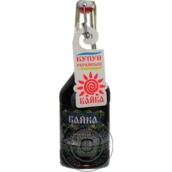 Tincture Bayka 40% 500ml glass bottle Ukraine