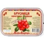 ягода брусника Вышиванка с сахаром 250г Украина