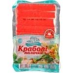 Crab sticks Vodnyi mir precooked 500g Ukraine