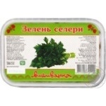 Greens celery Vushivanka frozen 100g Ukraine