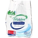 Powder detergent Easy and good for white 1500g Ukraine