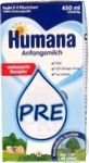 Смесь молочная жидкая Хумана Пре с LC PUFA 450мл