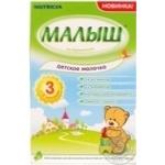Суміш молочна Малиш Істринський 3 Дитяче Молочко для дітей з 12 місяців 320г Росія