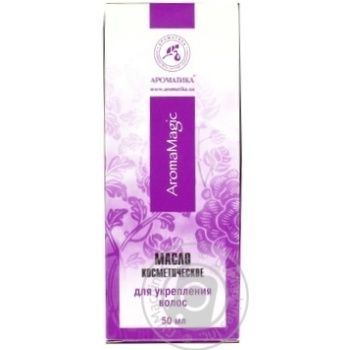 Aromatika Cosmetic Oil for Hair Strengthening 50ml - buy, prices for Auchan - photo 3