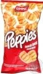 Чіпси пшеничні зі смаком бекону Peppies75г