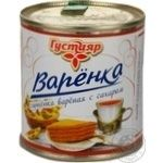 Condensed product Gustyyar with sugar 8.5% 370g can Russia