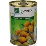 olive Po-nashomu green pitted 300ml can Spain
