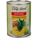 Fruit pineapple Easy and good pieces 580ml can Thailand