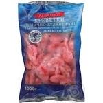 Креветки Альбатрос Преміум в панцирі варено-морожені 50/70 1кг - купить, цены на Ашан - фото 1