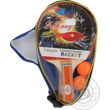 Набір для настільного тенісу ракетки м'ячі у чохлі Noris 2шт