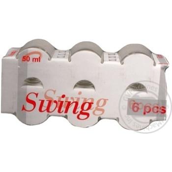 Набор стопок Swing 50мл 6шт - купить, цены на Novus - фото 7