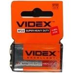 Videx Salt Batteries 6F22 9V 1pc