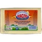 Butter Peasant style sweet cream 72.6% 450g Ukraine