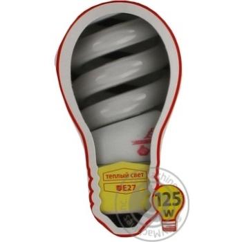 Лампа компактна люмінісцентна Економка SPC 25w E 27-27