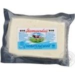 Сыр Яготын Любительские мягкая 40% вакумная упаковка Украина