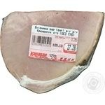 Baked ham Kremenchug boiled vacuum packing Ukraine