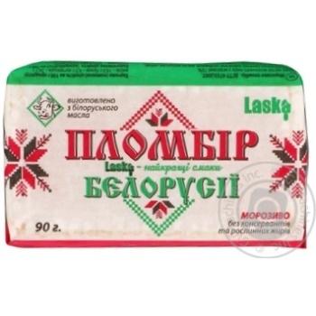 Ice-cream Laska frozen 90g Ukraine