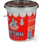 Sour cream Dobriana chilled 25% 350g plastic cup