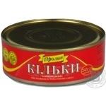 Fish sprat Proliv in sauce 240g can Ukraine