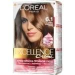 Крем-фарба для волосся Loreal з про-кератином Excellence Creme тон 6.1