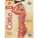 Колготы Conte Active 40 Den р.4 mocca шт