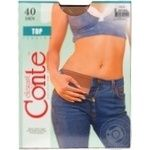 Tights Conte natural polyamide for women 40den 2size - buy, prices for Novus - image 3