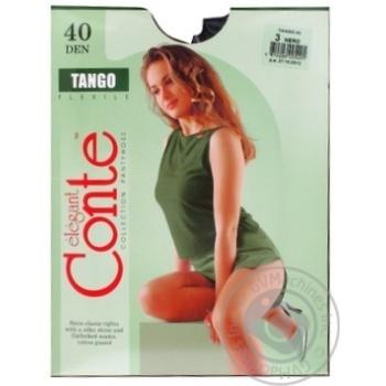 Колготи жіночі Conte Tango 40 den 3 nero - купити, ціни на МегаМаркет - фото 3