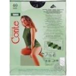 Колготи жіночі Conte Tango 40 den 3 nero - купити, ціни на МегаМаркет - фото 2