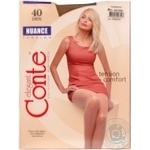 Tights Conte natural polyamide for women 40den 4size