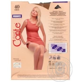 Колготы Conte Nuance 40 Den р.4 natural шт - купить, цены на МегаМаркет - фото 3
