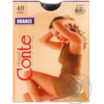Колготи Conte Nuance 40 Den р.2 nero шт - купити, ціни на Novus - фото 2