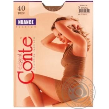 Колготи Conte Nuance 40 Den р.3 natural шт - купити, ціни на Novus - фото 2