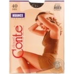 Tights Conte Nuance sheid polyamide for women 40den 4size