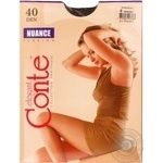 Tights Conte mocha polyamide for women 40den 4size