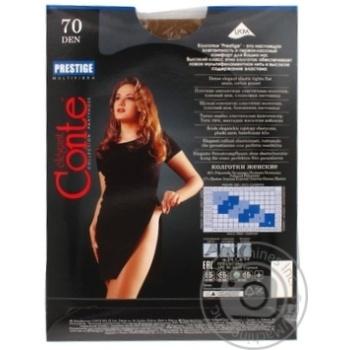 Колготы Conte Prestige 70 Den р.3 bronz шт