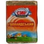 Сыр Белоцерковский Голландский плавленый ломтевой 45% 90г Украина